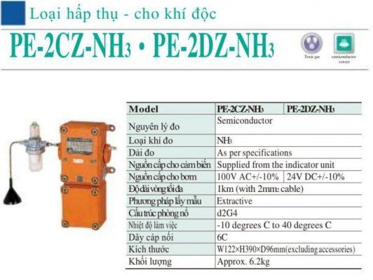 Đầu dò khí NH3 dạng hấp thụ PE-2CZ-NH3 Cosmos