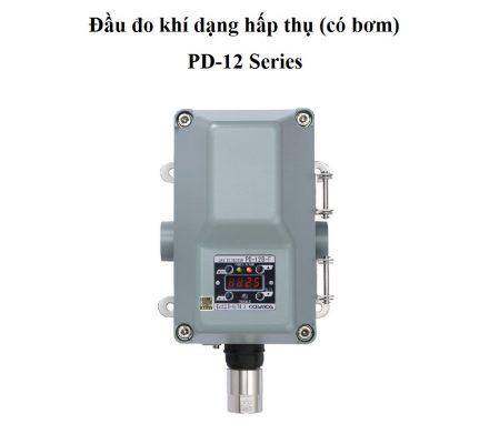 Cảm biến đo khí Hydro H2 loại có bơm PD-12