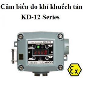 Đầu đo phát hiện rò rỉ khí Hydro H2 loại khuếch tán KD-12
