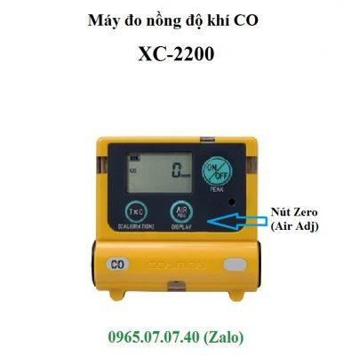 Zero máy đo khí CO XC-2200 Cosmos cầm tay