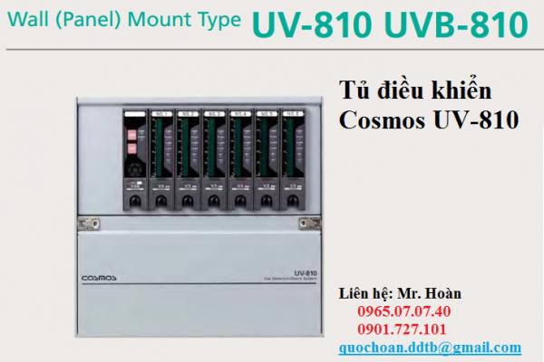 Tủ trung tâm cảnh báo rò rỉ khí UV-810 Cosmos