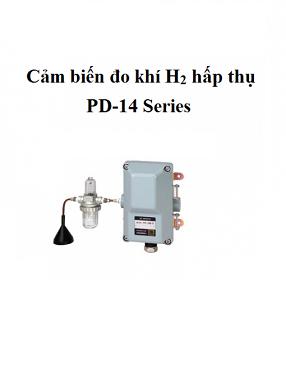 Đầu đo phát hiện rò rỉ khí Hydro H2 loại có bơm PD-14