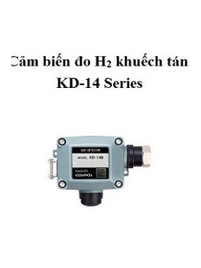 Cảm biến đo khí Hydro H2 loại khuếch tán KD-14