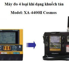 Máy đo 4 loại khí kiểu khuếch tán XA-4400II Cosmos
