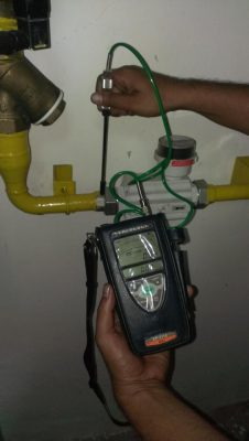 Đo kiểm tra rò rỉ khí H2 Hydrogen trên đường ống