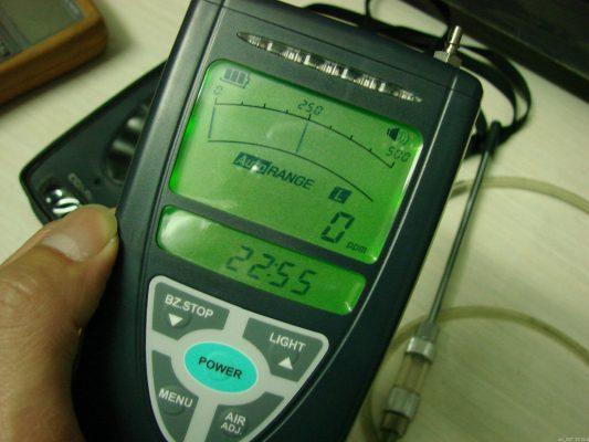 Máy đo nồng độ khí cháy nổ LPG XP-3160