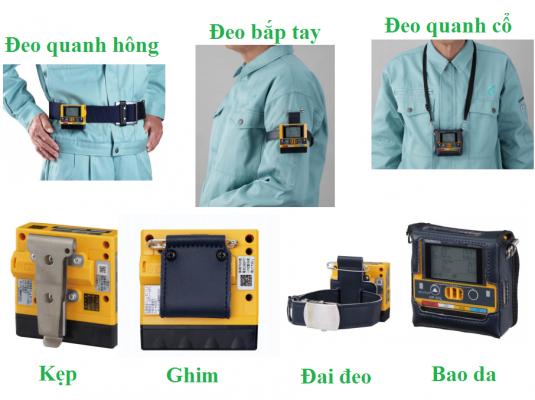 Các ứng dụng và phụ kiện của máy đo khí cầm tay