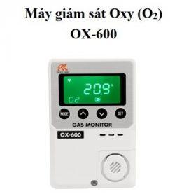 máy giám sát khí Oxy cố định OX-600 RKI