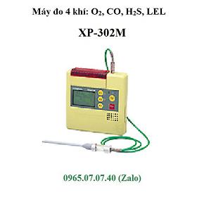 Máy đo 4 loại khí đa chỉ tiêu CO H2S O2 LEL XP-302M Cosmos