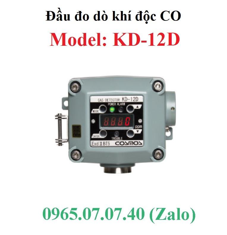 Đầu cảm biến đo dò khí độc CO KD-12D Cosmos
