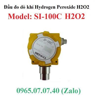Đầu cảm biến đo phát hiện rò rỉ khí H2O2 Hydrogen Peroxide SI-100C Senko