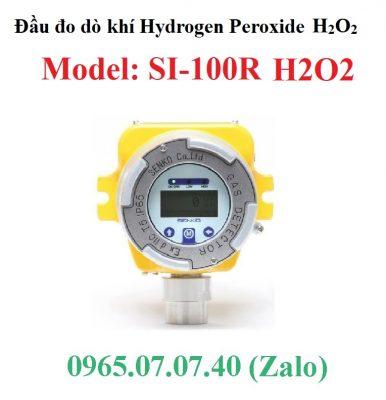 Đầu cảm biến đo phát hiện rò rỉ khí H2O2Hydrogen Peroxide SI-100R Senko