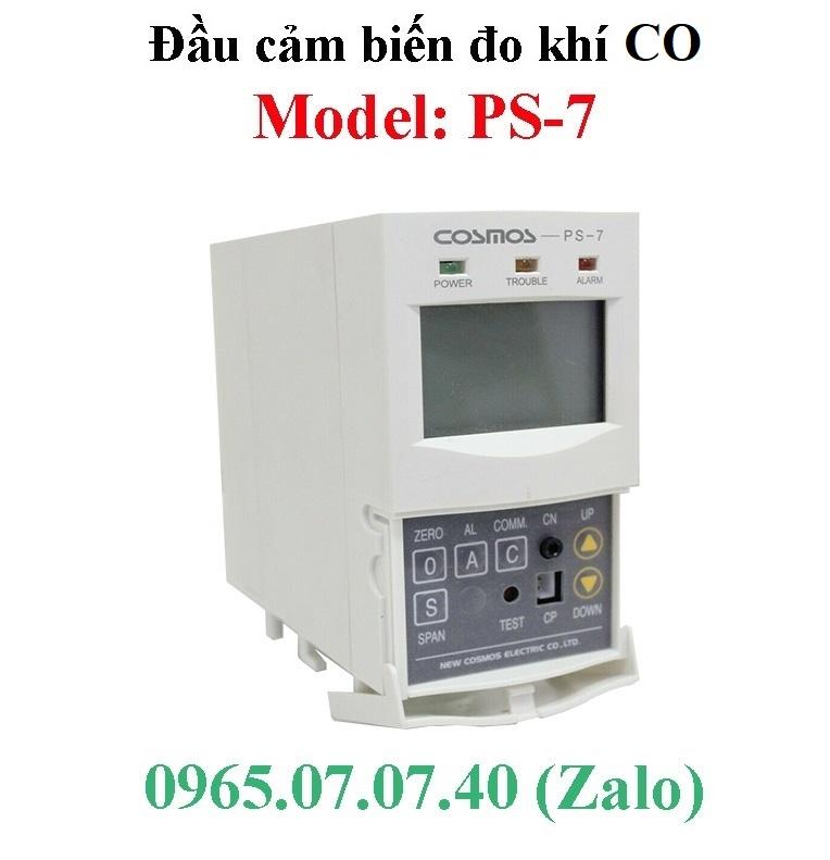Cảm biến, đầu dò khí độc CO Ps-7 Cosmos