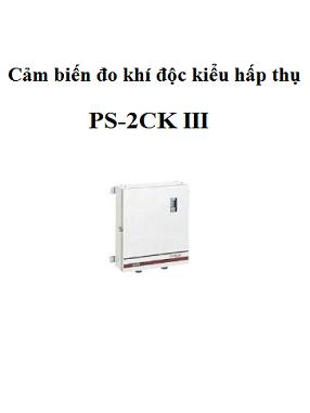 Sensor đo khí độc loại hấp thụ PS-2CK III Cosmos