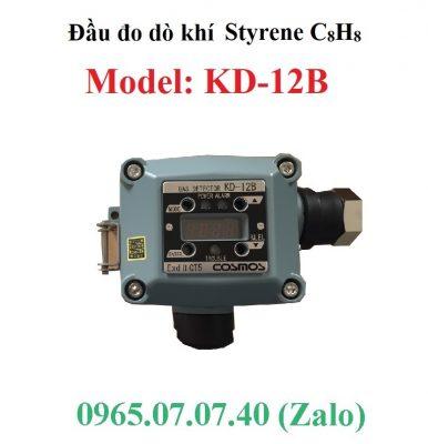 Đầu đo dò khí gas Styrene C8H8 KD-12B Cosmos