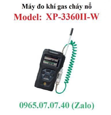 Máy thiết bị đo dò khí gas cháy nổ chuyển đơn vị từ ppm sang %LEL XP-3360II-W Cosmos