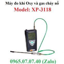 Máy đo khí gas và khí oxy XP-3118 Cosmos