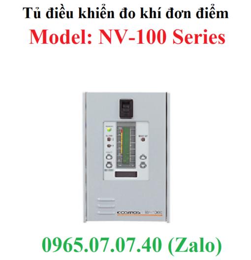 Tủ điều khiển đo và cảnh báo khí đơn điểm NV-100 Series Cosmos