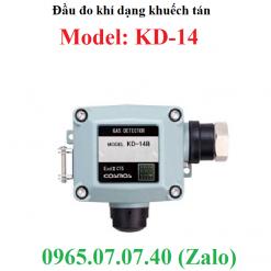 Đầu cảm biến đo khí Hydrogen h2 Hydro dạng khuếch tán KD-14 Cosmos