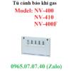 Tủ cảnh báo kết nối đầu dò phát hiện rò rỉ gas NV-400 Cosmos