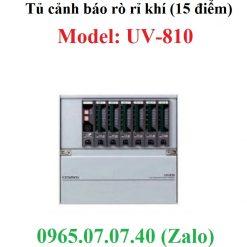 Tủ điều khiển hiển thị cảnh báo nồng độ khí UV-810 Cosmos