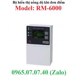 Bộ hiển thị kết nối đầu dò nồng độ khí loại đơn điểm RM-6000 RKI