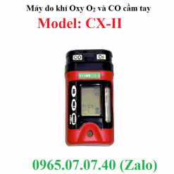 Máy đo khí oxy o2 và CO cầm tay CX-II RKI