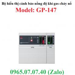 Bộ đo hiển thị cảnh báo kết nối đầu dò nồng độ khí gas cháy nổ GP-147 RKI