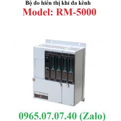 Bộ đo hiển thị kết nối đầu dò nồng độ khí đa kênh RM-5000 RKI