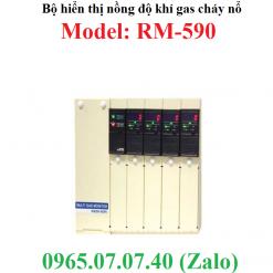 Bộ đo hiển thị kết nối đầu dò nồng độ khí gas cháy nổ RM-590-RKI