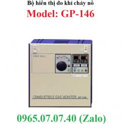 Bộ hiển thị kết nối đầu dò khí gas cháy nổ GP-146 RKI
