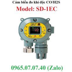 Đầu cảm biến đo khí độc Co H2S SD-1EC RKi