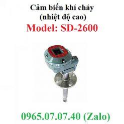 Đầu cảm biến đo khí gas cháy nổ nhiệt độ cao SD-2600 RKI