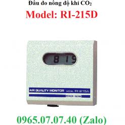 Đầu cảm biến đo giám sát nồng độ khí CO2 RI-215 RKi
