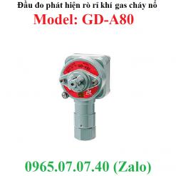 Đầu đo phát hiện rò rỉ khí gas cháy nổ GD-A80 RKI