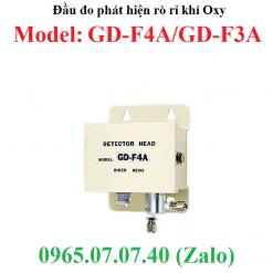 Đầu cảm biến đo phát hiện rò rỉ khí oxy O2 GD-F4A và GD-F5A RKI