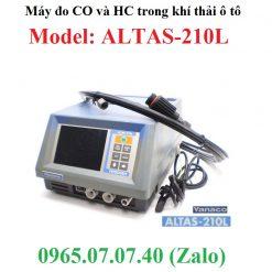 Máy đo khí CO và HC trong khí thải Altas-210L iYasaka