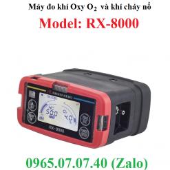 Máy đo khí oxy và khí gas cháy nổ RX-8000 RKI