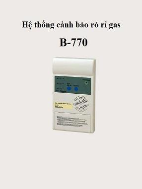 Hệ thống cảnh báo rò rỉ khí gas B-770
