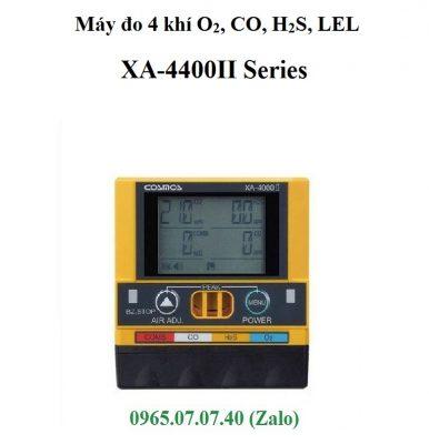 Lưu ý khi sử dụng máy đo 4 loại khí XA-4400II Cosmos