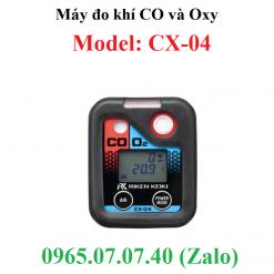 máy đo nồng độ khí co và oxy cx-04 RKI