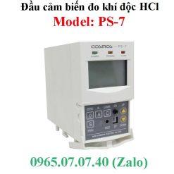 Đầu cảm biến đo khí độc Hydro Clorua HCl PS-7 Cosmos