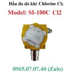 Đầu cảm biến đo giám sát khí Chlorine Cl2 SI-100C Senko