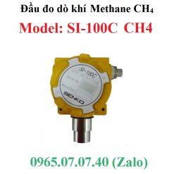 Đầu cảm biến đo giám sát khí Methane CH4 SI-100C Senko