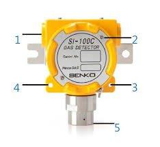 Đầu cảm biến đo giám sát khí Carbon Monoxide CO SI-100C Senko
